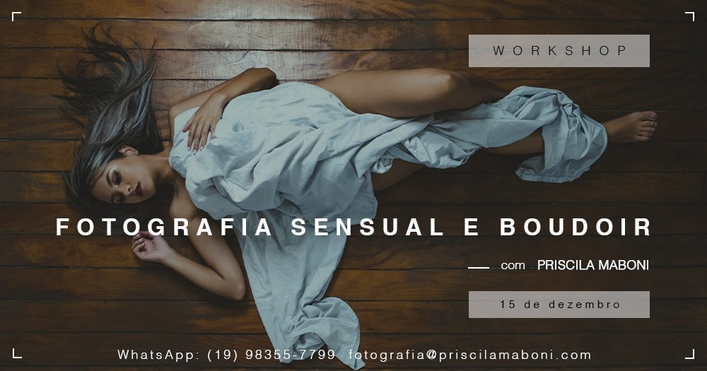 Workshop sensual a boudoir